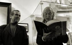 Ben Dronkers and Simon Vinkenoog