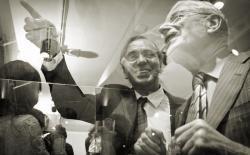 Ben Dronkers and Dries van Agt