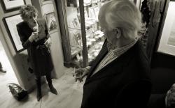 Thorvald Stoltenberg and Hedy dAncona