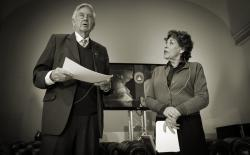 Hanneke Groenteman and Frits Bolkestein