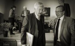 Frits Bolkestein and Ben Dronkers