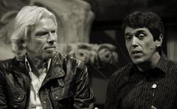 Todd McCormick and Richard Branson