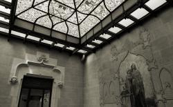 Hash Marihuana Cáñamo and Hemp Museum entrance skylight