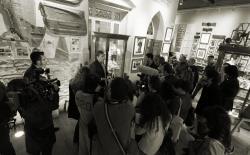 Press conference in the Hash Marihuana Cáñamo and Hemp Museum, Barcelona